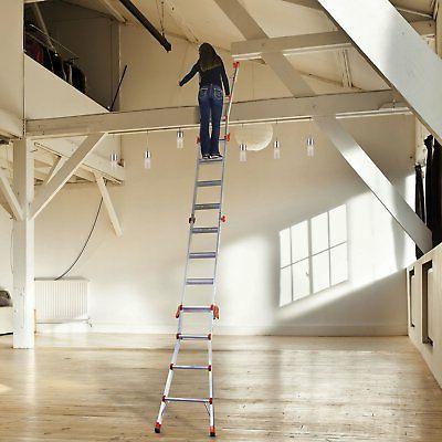 Little Giant Velocity Foot Ladder & Work