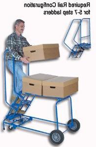 Ballymore Lock Step Cart-N-Climb Ladder - 2 Step, 24 x 35 in