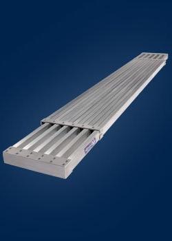 LOUISVILLE LADDER LP-2921-13A Aluminum Expand Plank Ladder,