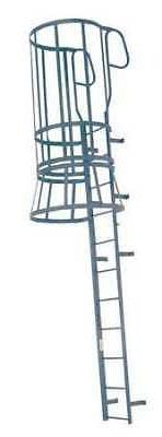 COTTERMAN M26WC C1 Fixed Ladder w/Safety Cage, 28 ft.  8 In