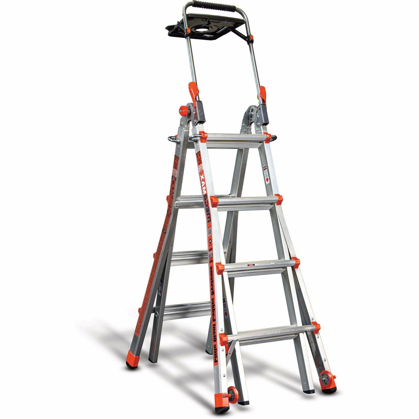 megamax 17 ladder w air deck new