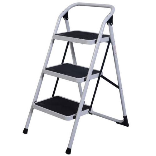 Multi Purpose 3 Lightweight Ladder Stool 330 Capacity