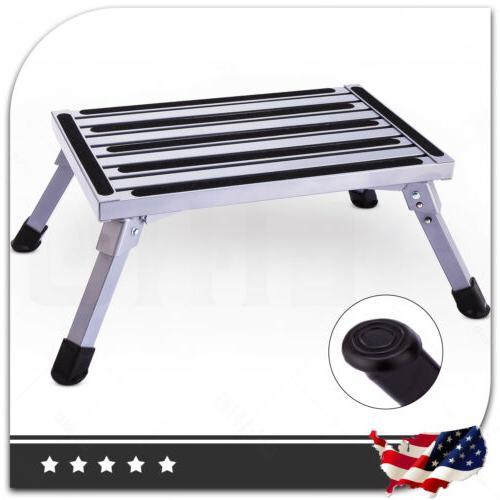 multi purpose aluminium ladder work bench stool