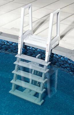 ne1175 heavy duty in pool ladder white
