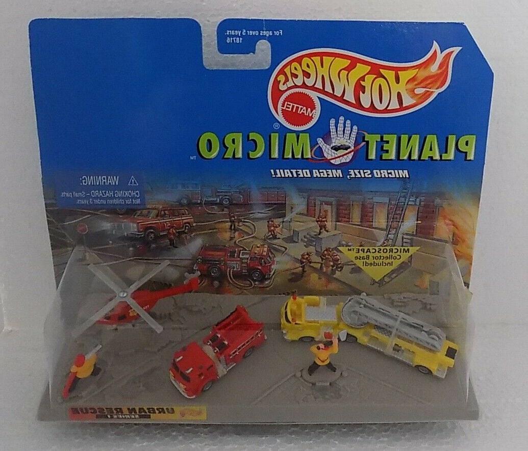 new 1997 planet micro urban rescue fire