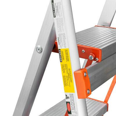 Gorilla Ladders 3-Step Steel Lightweight Ladder Lbs