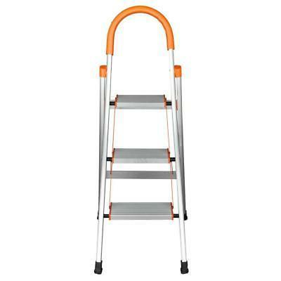 New 3 Ladder Steel Stool 330Lbs