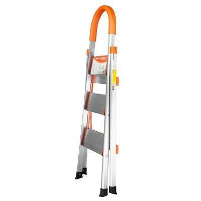 New Aluminum Ladder Folding Stool 330Lbs