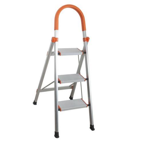 New Aluminum Ladder Folding Step Anti-slip