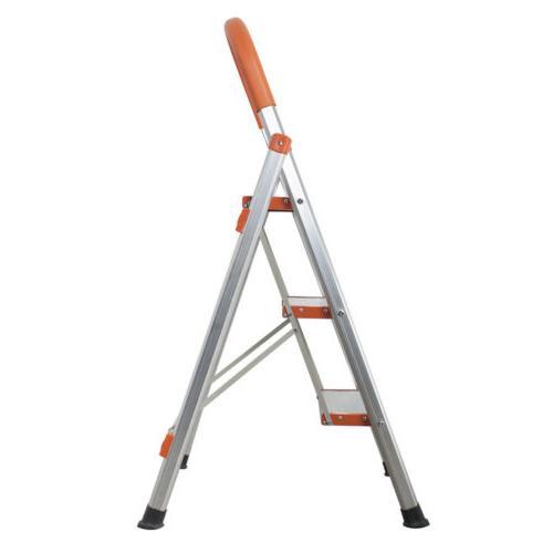 new 3 step aluminum ladder folding step