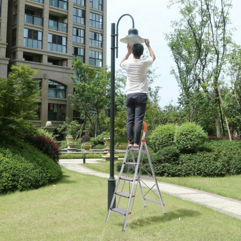 NEW 5 Step Ladder Heavy Duty Platform Non-slip