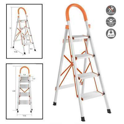 new anti slip 4 step aluminum ladder