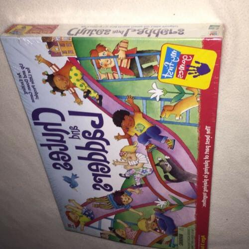 New Chutes Ladders 1999 Board Milton First Games