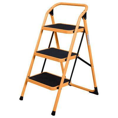 Non 3 Ladder Stool Safety Kitchen Use