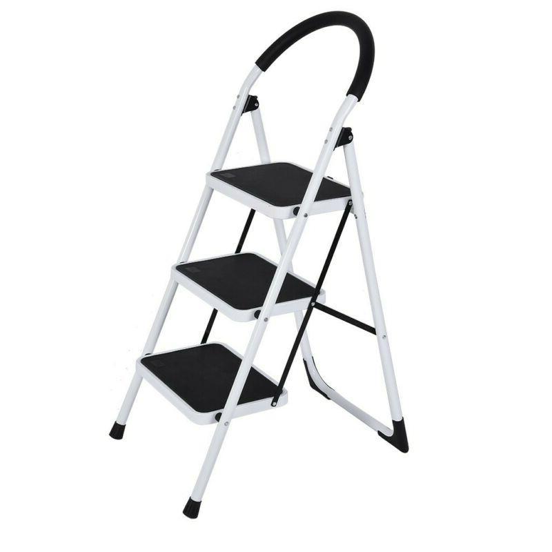 2/3 Step Steel Ladder W/ Pedal