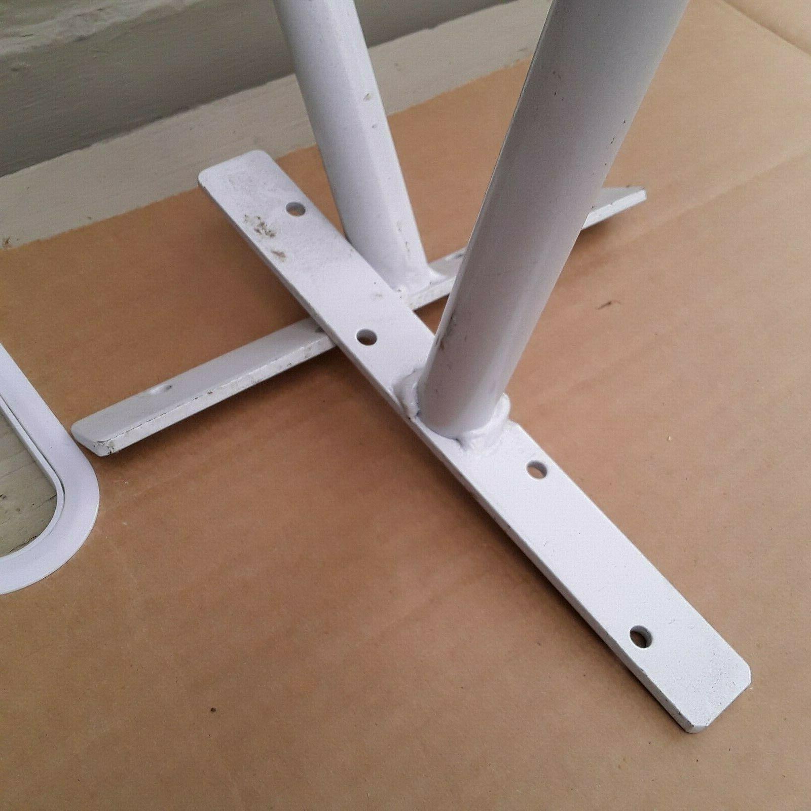 Overhead ceiling hooks for ladders lumber trim