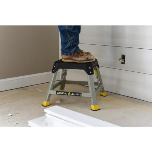 Gorilla Step Stool Steel 300 Max Non-Slip Duty