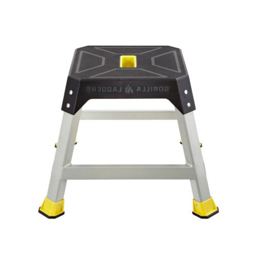 Gorilla Ladders Step Stool 300 Lb. Max Non-Slip Heavy Duty