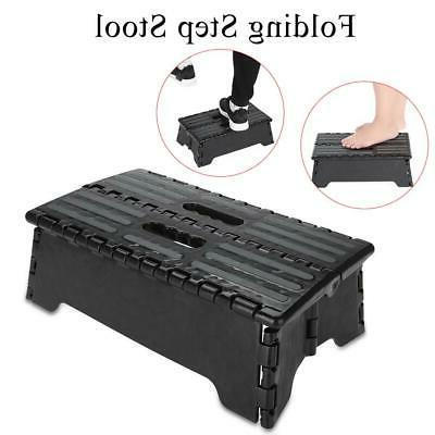 Portable Step Stool Black for