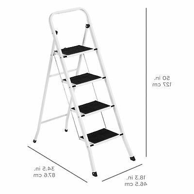 Portable Ladder Steel Heavy Lightweight