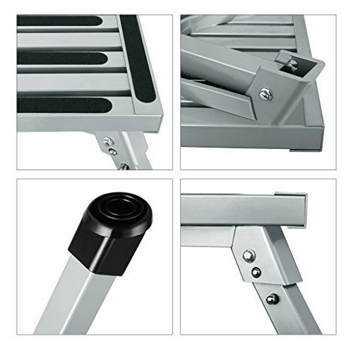 Prime Finether Portable Rv Step Stool Height Aluminum Folding Inzonedesignstudio Interior Chair Design Inzonedesignstudiocom