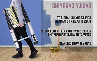 Practical Telescoping Ladder Aluminum Extension for Home
