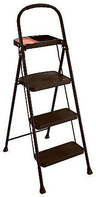 project step stool with tray 3 step