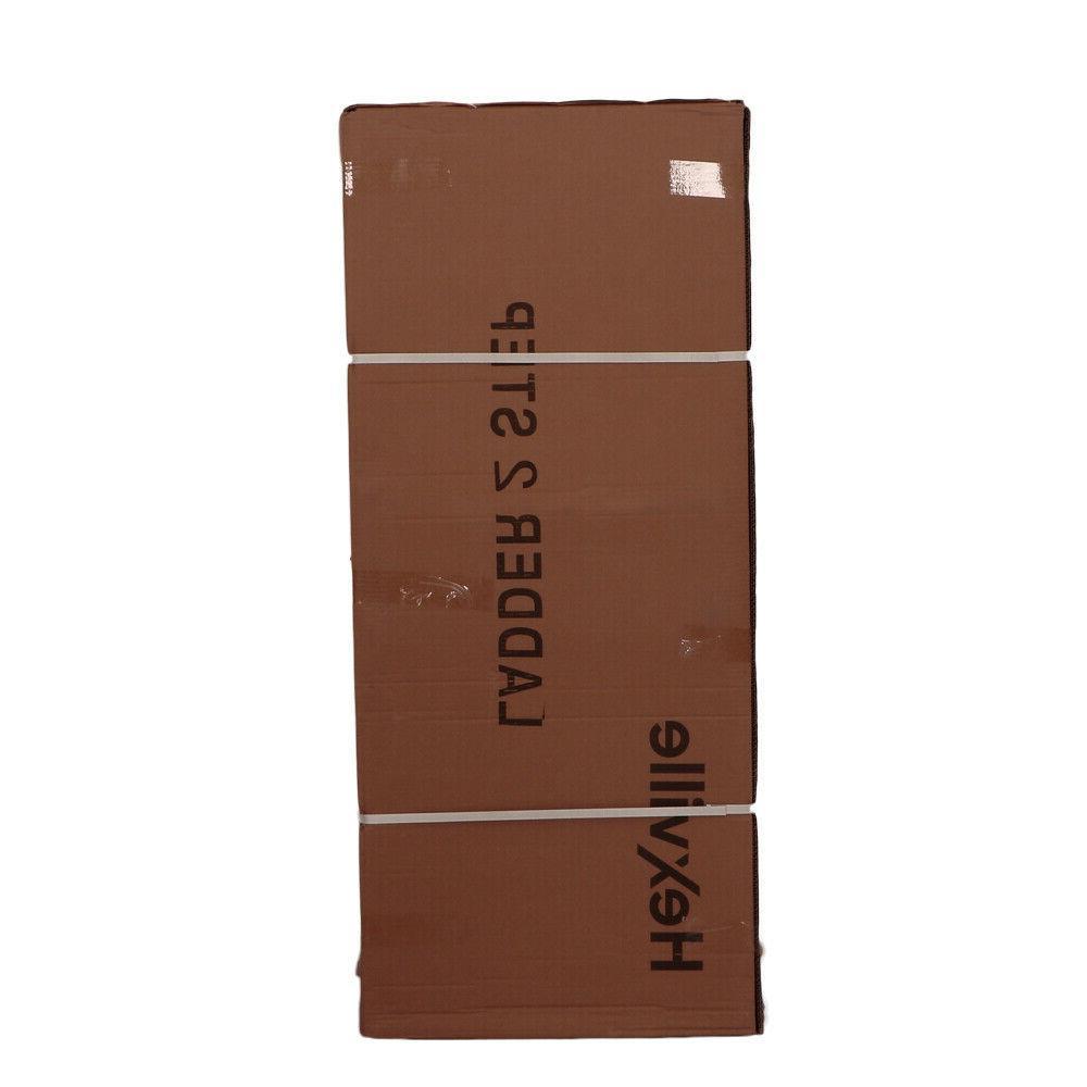 Protable 2 3 Steps Ladder Folding Slip Safety Duty Industrial