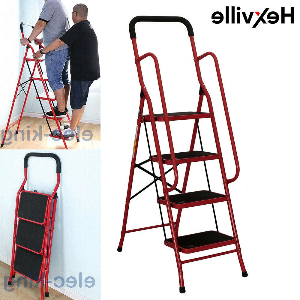 protable 2 3 4 steps ladder folding