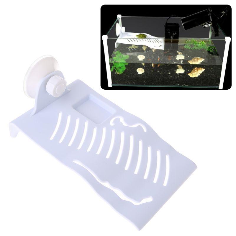 Reptile Terrace Sun Turtle <font><b>Platform</b></font> Toys Suction