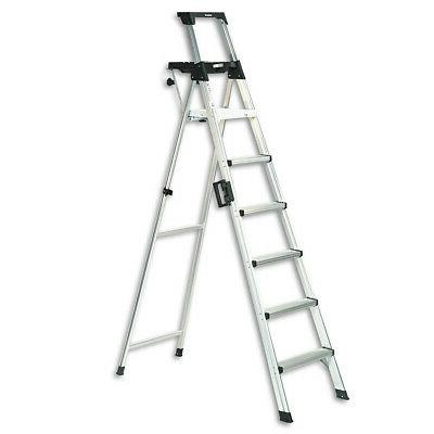 Cosco Signature Series 8 ft. Aluminum Step Ladder