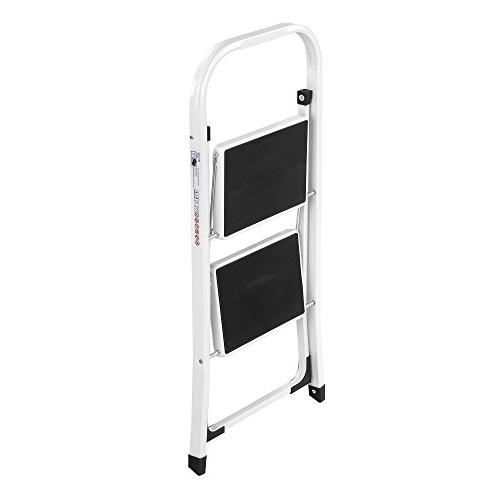 Ladder Folding Portable with Capacity - Lightweight Sturdy, 2