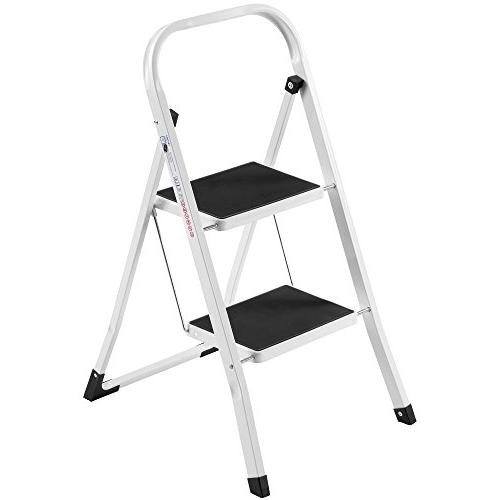 steel 2 ladder folding portable