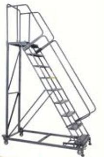 Ballymore 113214P Steel M-2000 Series Rolling Safety Ladder