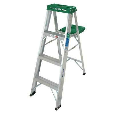 stepladder aluminum ansi ii light