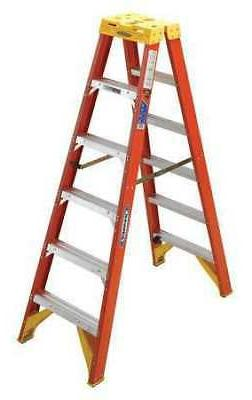 Werner T6208 8 ft. Type IA Fiberglass Twin Ladder