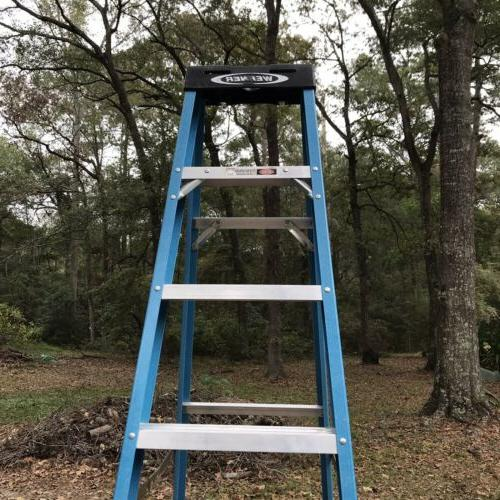 Used Ft Fiberglass Step Ladder