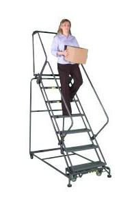 Ballymore Ladders, Wide Stairway Slope With Perforated Stair