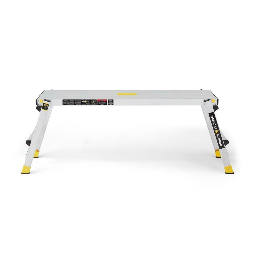 300 lbs. Work Platform Foldable Aluminum Heavy-Duty