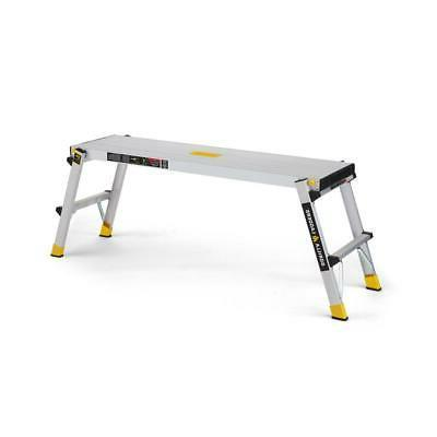 Gorilla Ladders Work 300 lb. Load Foldable Aluminum