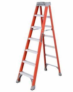 Louisville Ladder FS1507 7 ft Fiberglass Standard Step Ladde