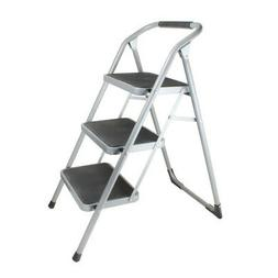 Helping Hand LFQ93000 3-Step Stool with Foam Grip Handle, 22