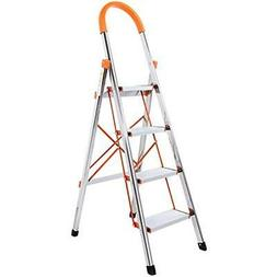 Lifewit 4-Step Step Ladders Stool Portable Folding Anti-Slip