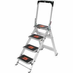 Little Giant® Safety Aluminum Step Ladder - 4 Step