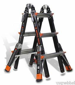 Little Giant Dark Horse Multi-Use Fiberglass Ladder