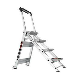 Little Giant Ladder Systems 10410BA Safety Step Ladder Four