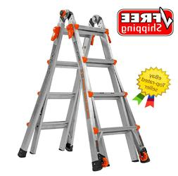 Little Giant Velocity Model 17 Multi-Use Ladder Type 1A FREE