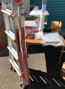 LOT OF 3PCS Little Giant American Titan Ladder-9-15 ft Model
