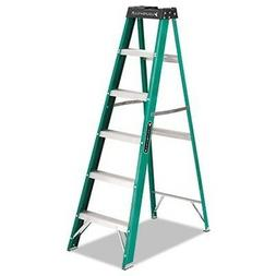 Louisville® #592 Six-Foot Folding Fiberglass Step Ladder, G