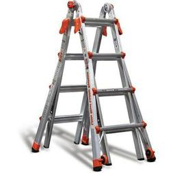 New Little Giant Ladder Systems LT 17 ft. Aluminum Multi-Pos